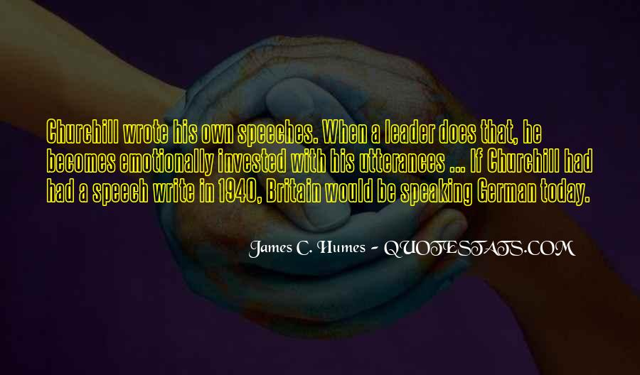 James Humes Quotes #1778692