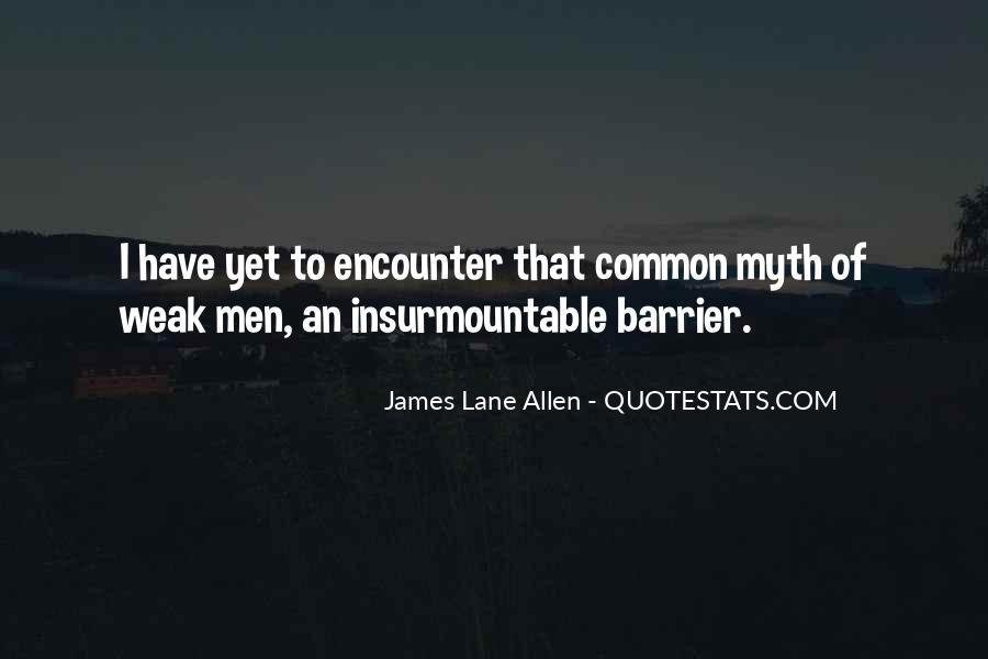 James Lane Allen Quotes #1474573