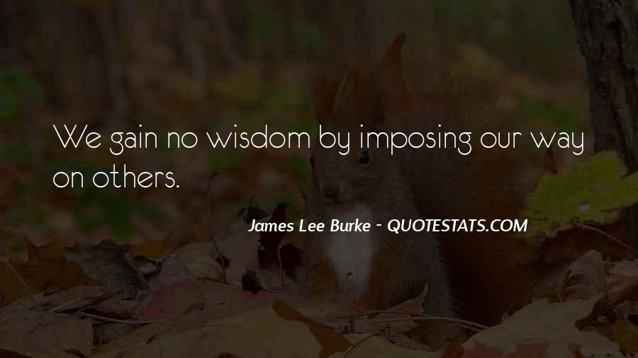 James Lee Burke Quotes #1137314