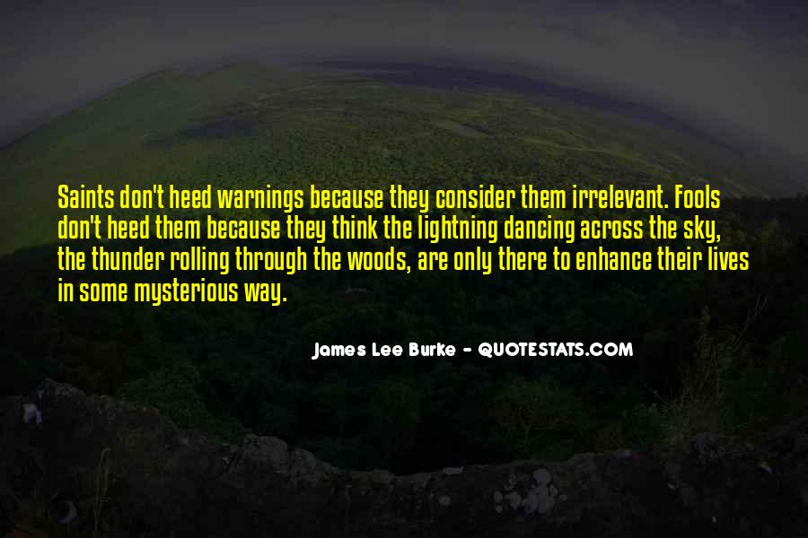 James Lee Burke Quotes #456831