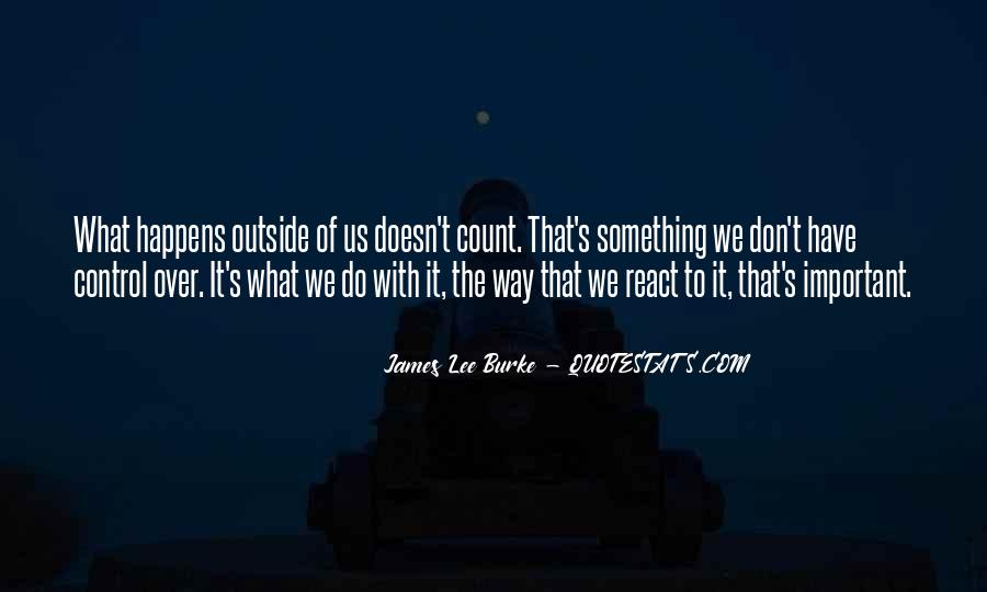 James Lee Burke Quotes #468796
