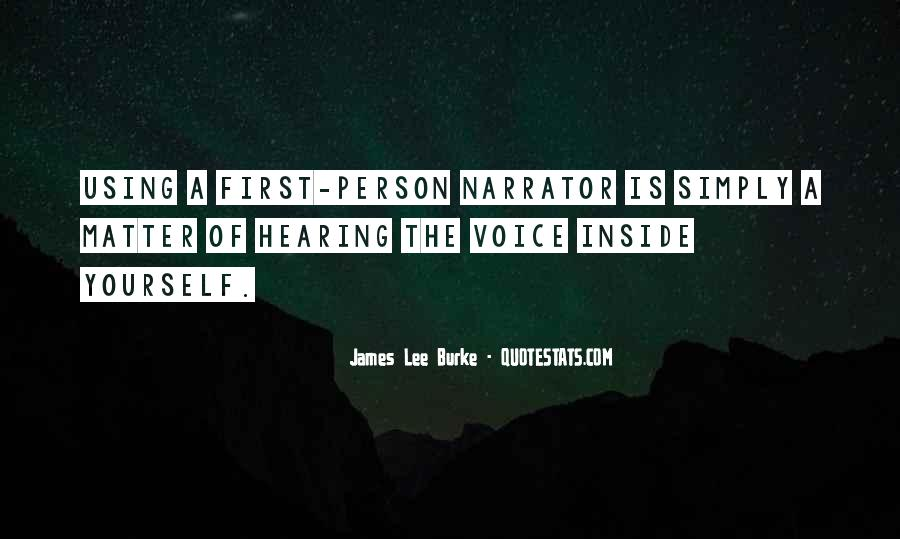 James Lee Burke Quotes #692936