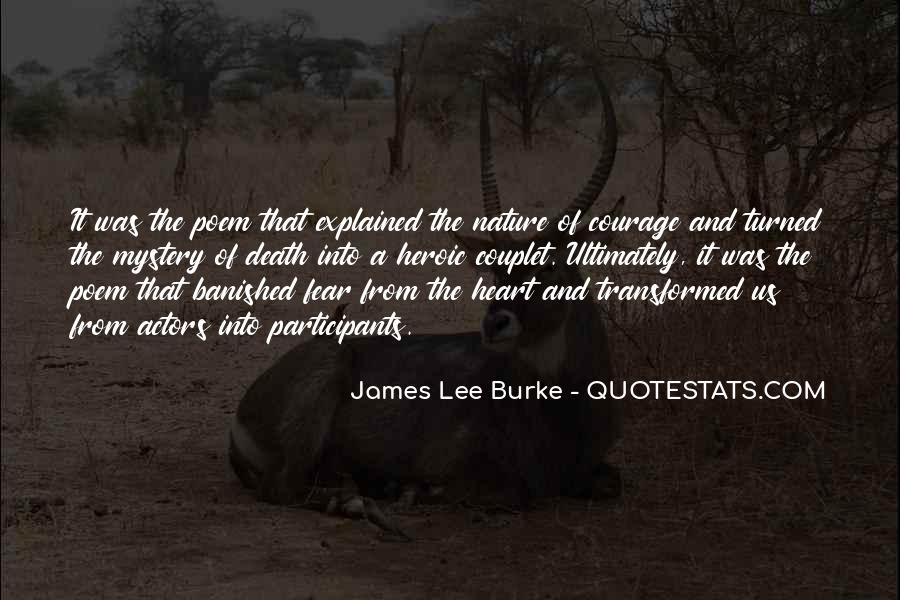 James Lee Burke Quotes #796812