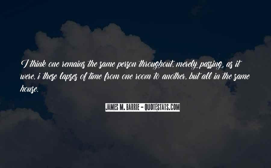 James M Barrie Quotes #1403097