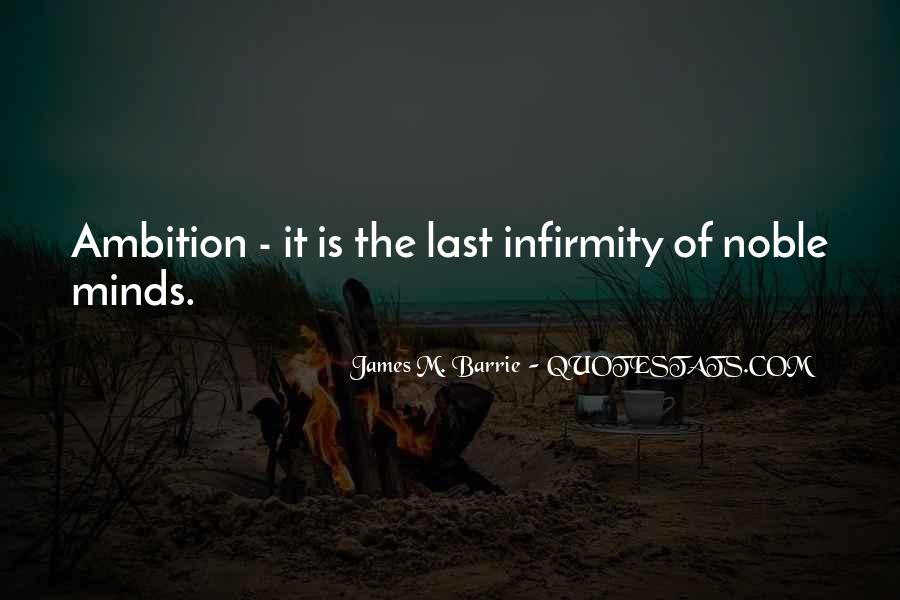 James M Barrie Quotes #18617