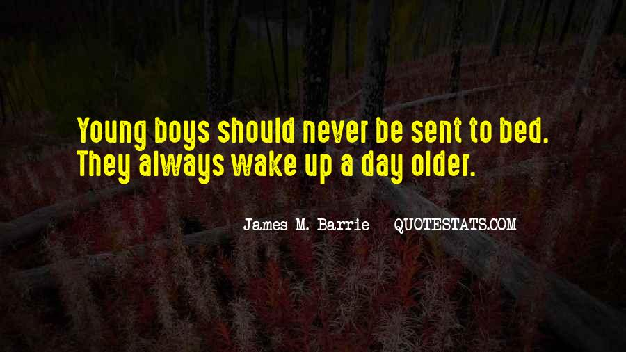James M Barrie Quotes #475988