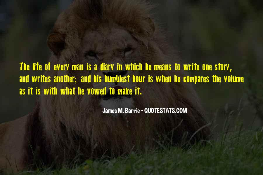 James M Barrie Quotes #780480