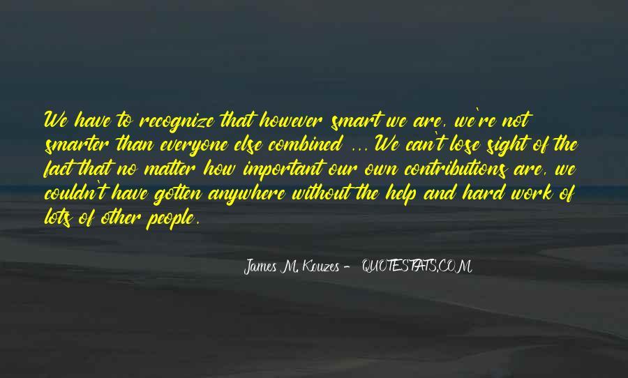 James M Kouzes Quotes #1829302