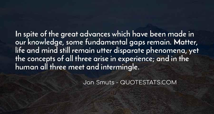 Jan Smuts Quotes #1708296
