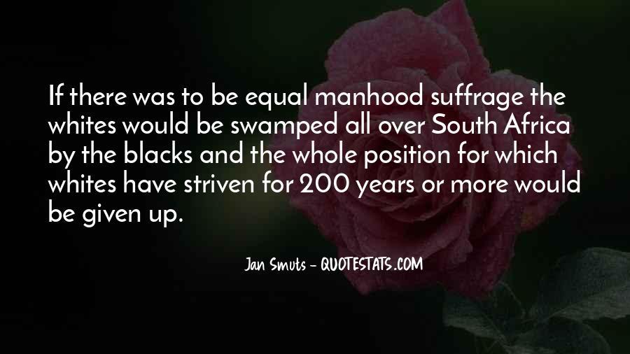 Jan Smuts Quotes #291854