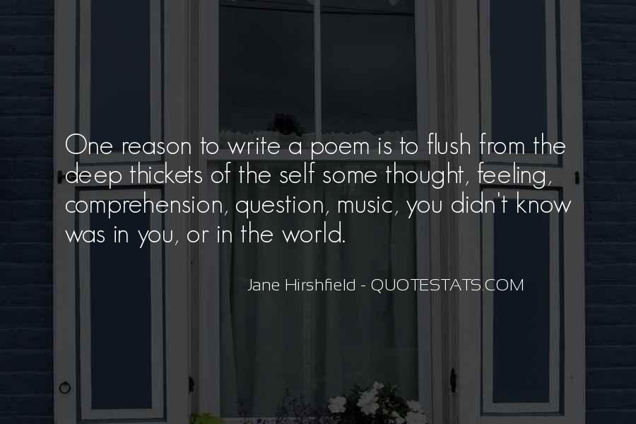 Jane Hirshfield Quotes #1051099