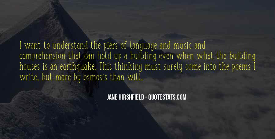 Jane Hirshfield Quotes #1060412