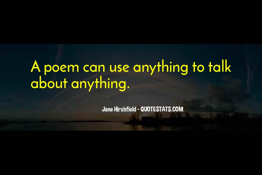 Jane Hirshfield Quotes #1102928