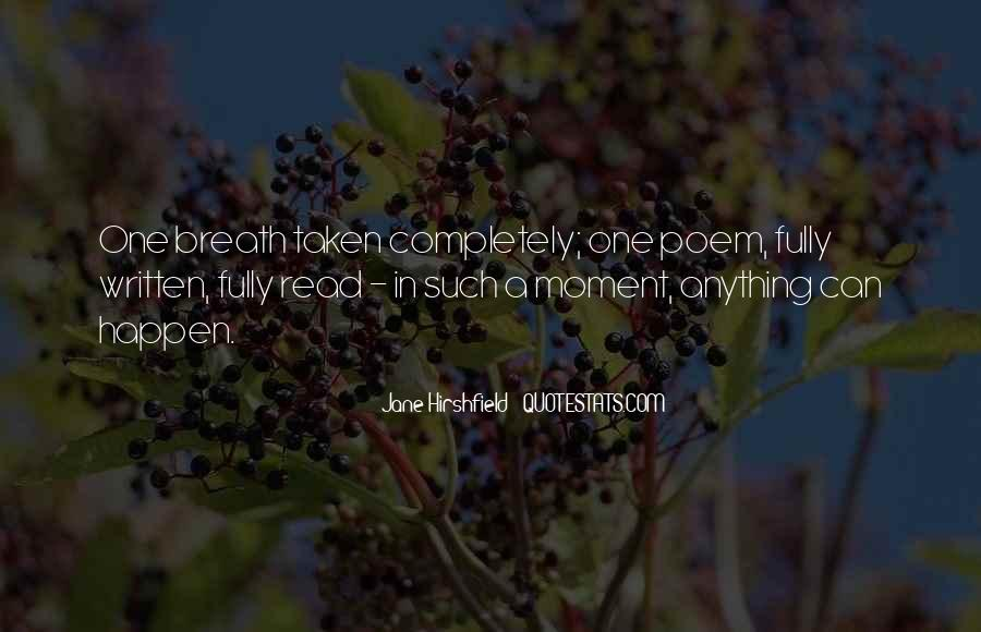 Jane Hirshfield Quotes #1112107