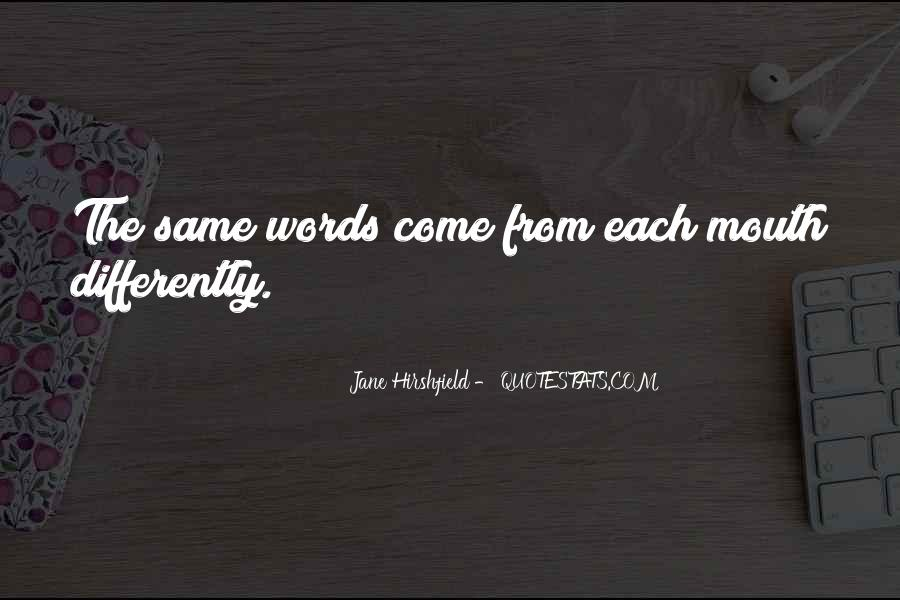 Jane Hirshfield Quotes #251369