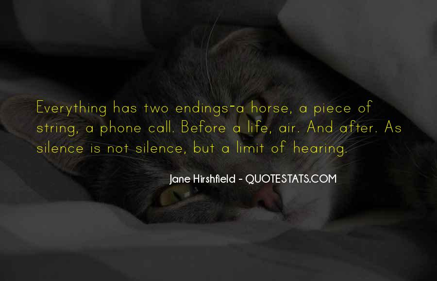 Jane Hirshfield Quotes #292950