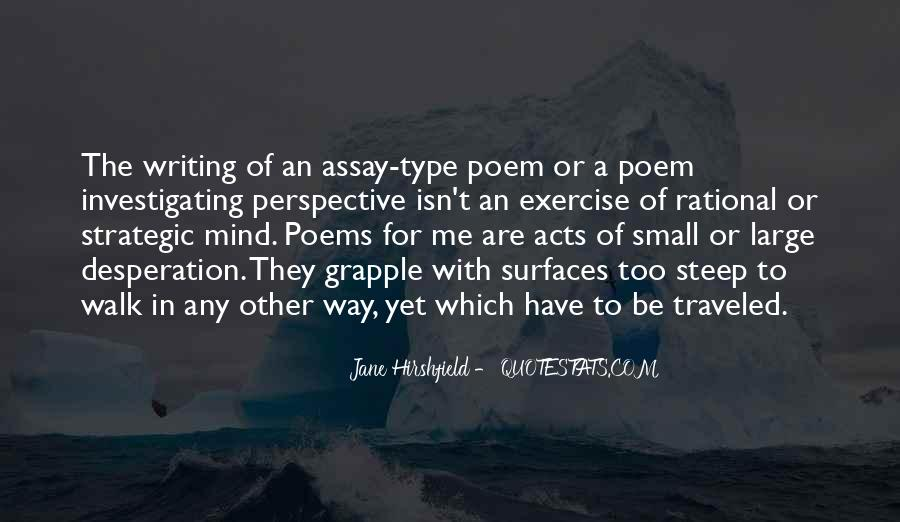 Jane Hirshfield Quotes #70965