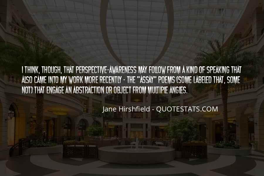 Jane Hirshfield Quotes #896695