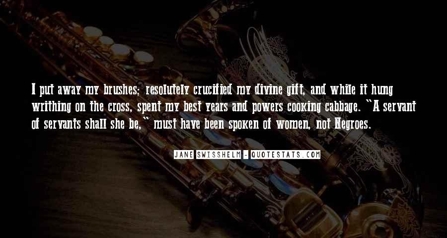 Jane Swisshelm Quotes #1318082