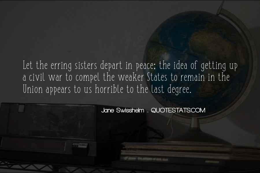 Jane Swisshelm Quotes #1656736