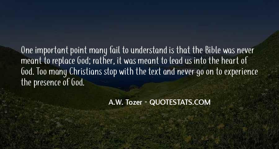 Quotes About Experience From The Bible #1053944