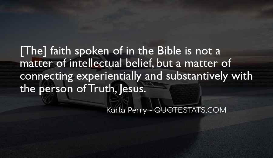 Quotes About Experience From The Bible #1230450