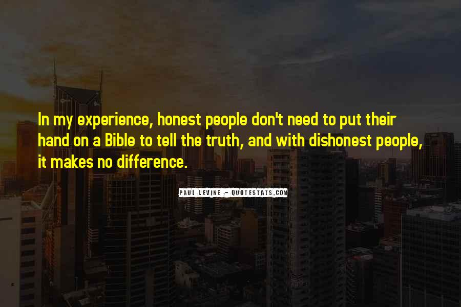 Quotes About Experience From The Bible #1350669