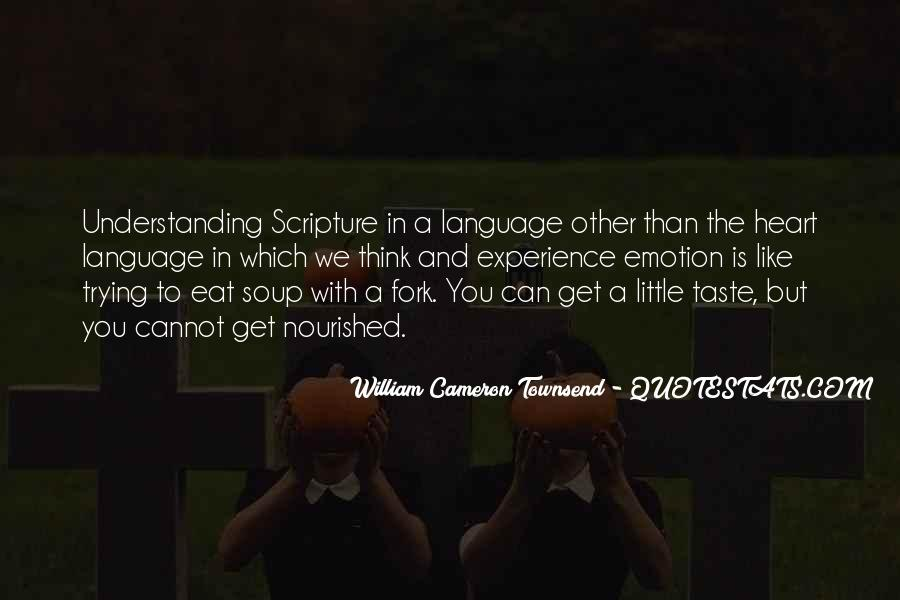 Quotes About Experience From The Bible #159548