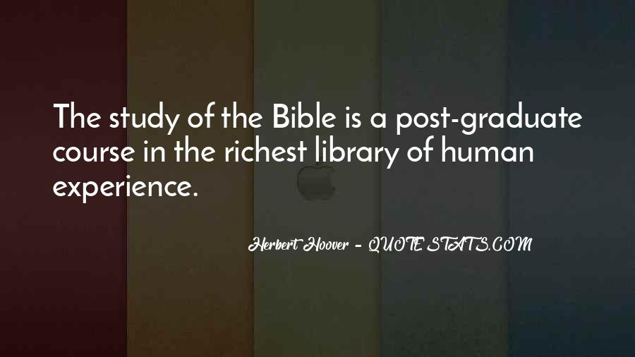 Quotes About Experience From The Bible #1774078