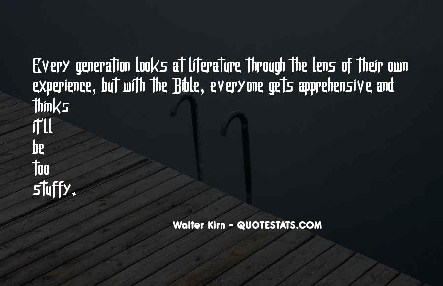 Quotes About Experience From The Bible #781646
