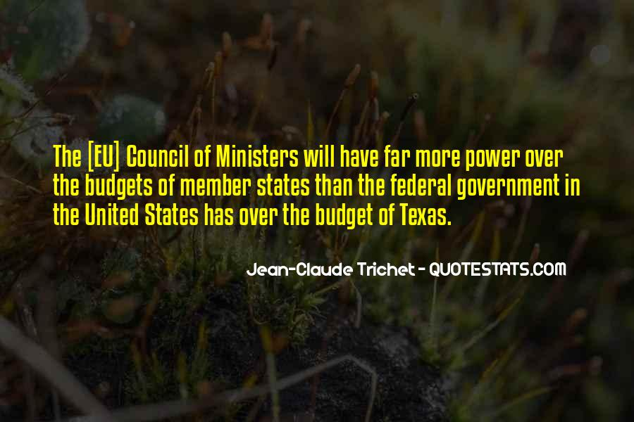 Jean Claude Trichet Quotes #186582