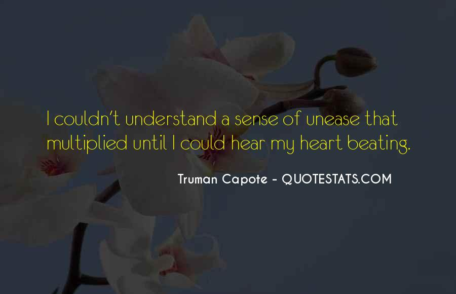 Quotes About Unease #948
