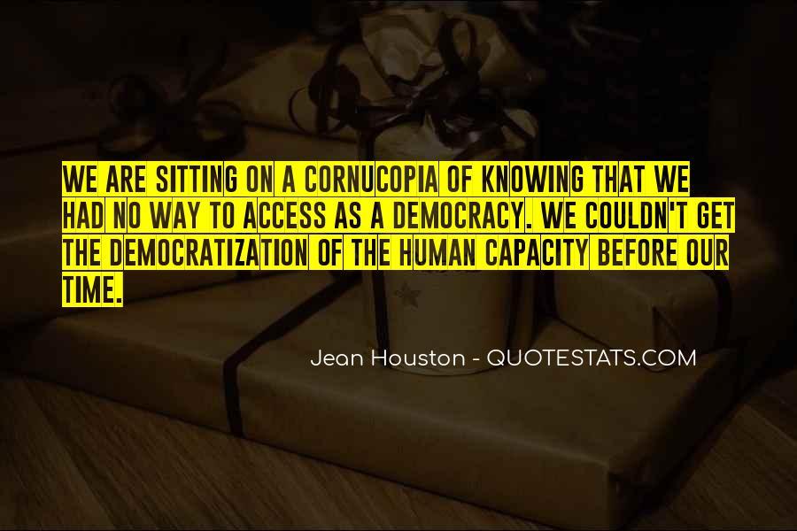 Jean Houston Quotes #189992
