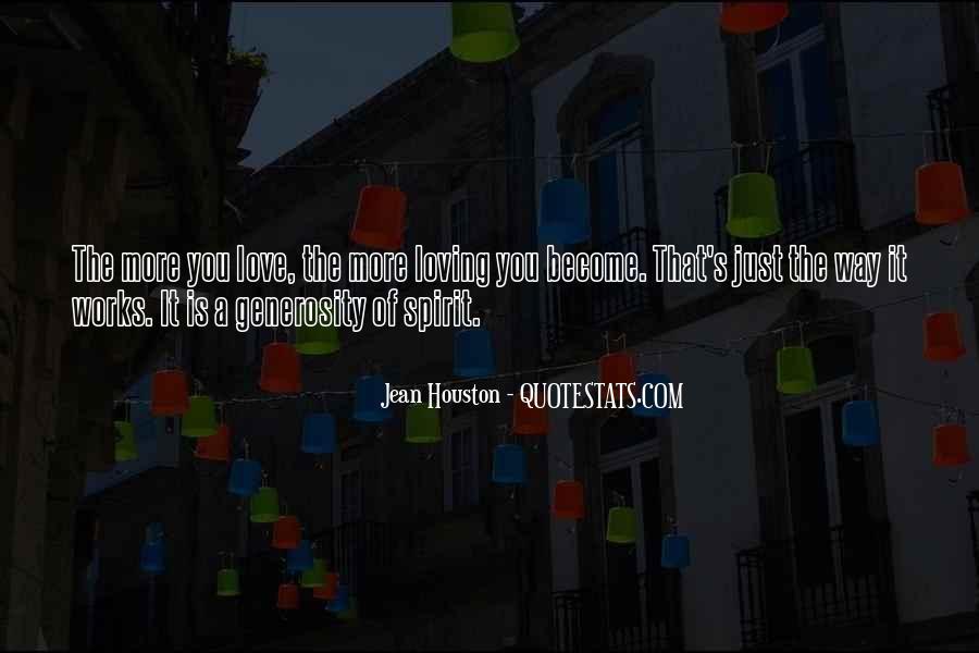 Jean Houston Quotes #267031