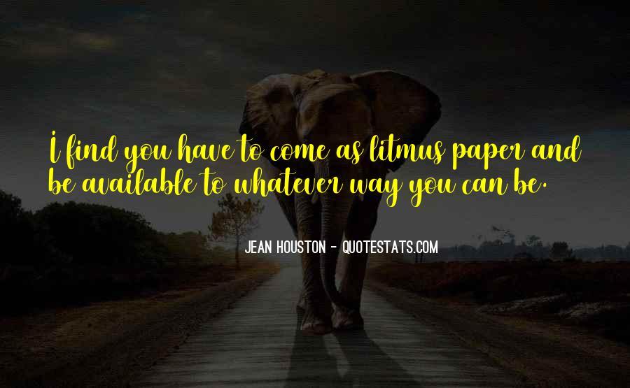 Jean Houston Quotes #756054
