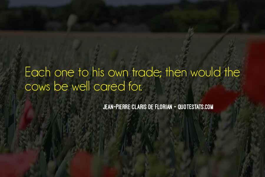 Jean Pierre Claris De Florian Quotes #1069918