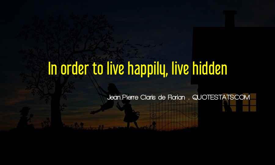 Jean Pierre Claris De Florian Quotes #1674270