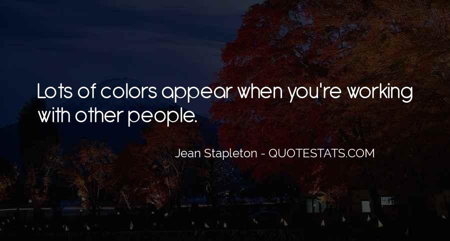 Jean Stapleton Quotes #1868471