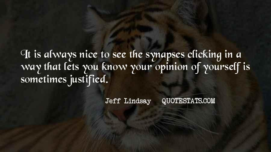 Jeff Lindsay Quotes #273178