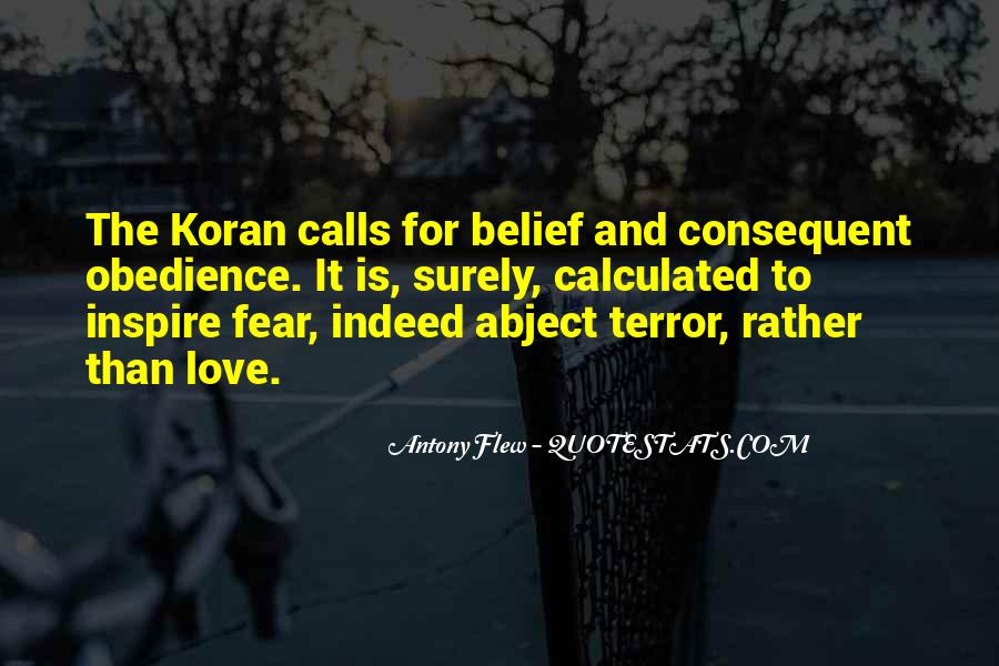 Quotes About Terror And Fear #1074276