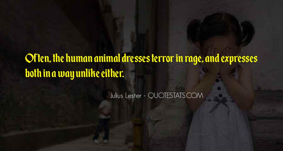 Quotes About Terror And Fear #1277876