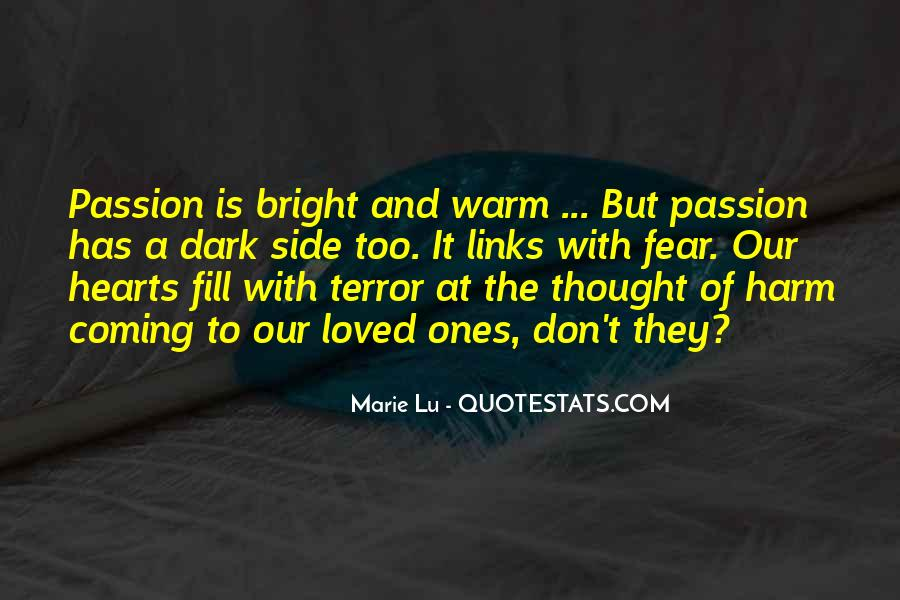 Quotes About Terror And Fear #1291968