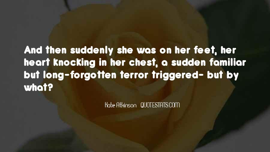 Quotes About Terror And Fear #139707