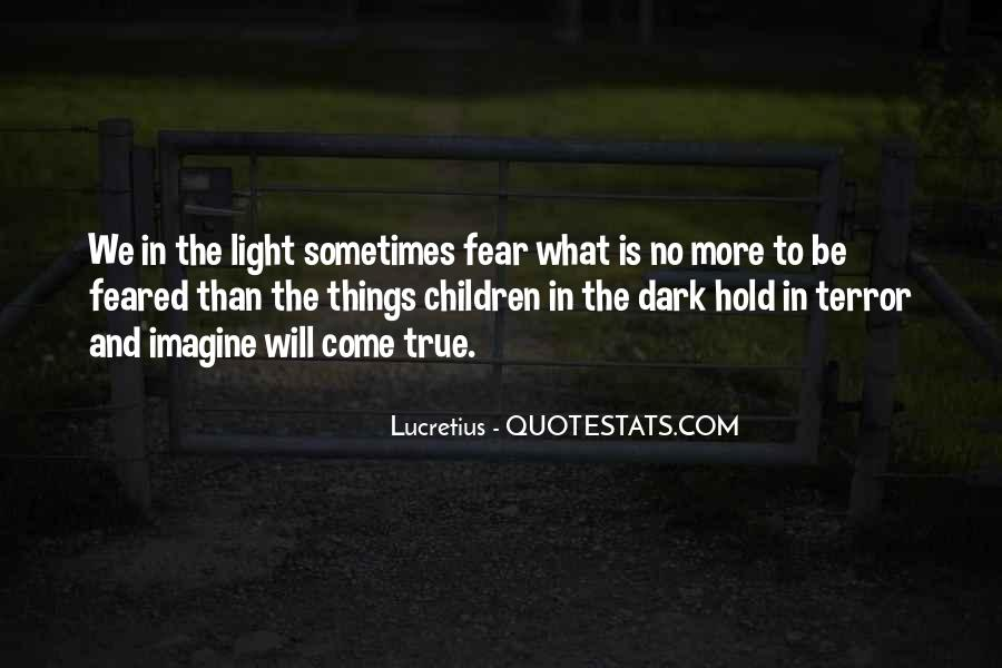 Quotes About Terror And Fear #1525781