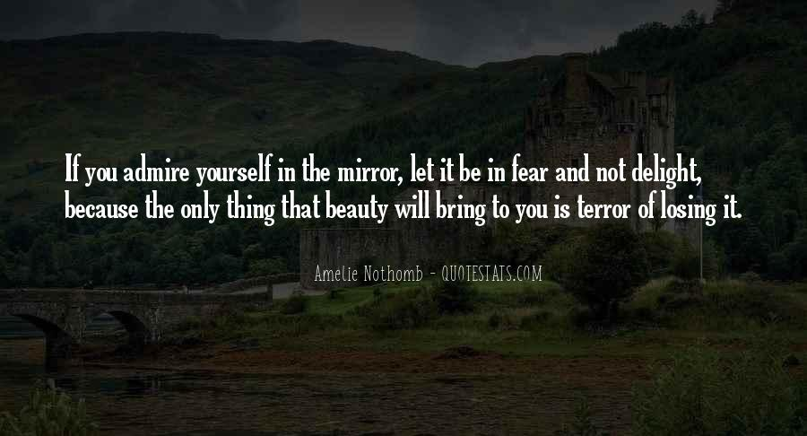 Quotes About Terror And Fear #20953
