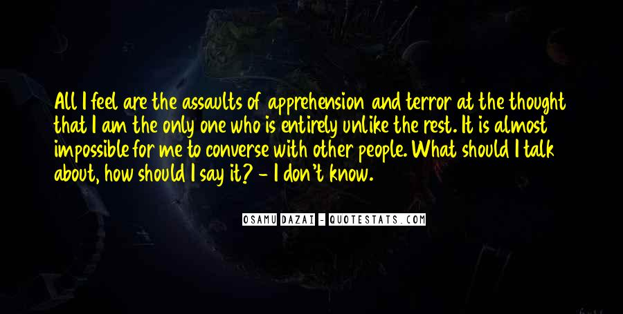 Quotes About Terror And Fear #385958