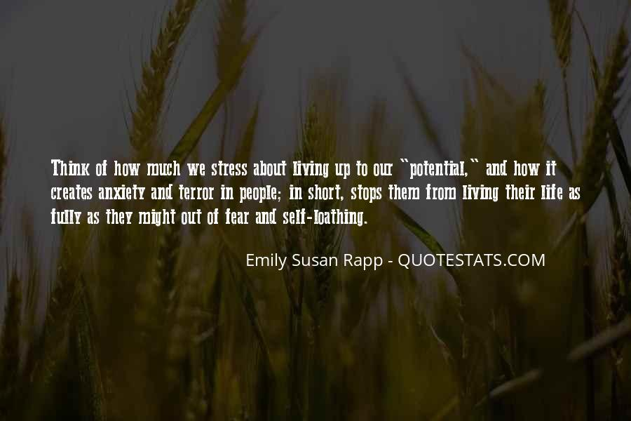 Quotes About Terror And Fear #394907