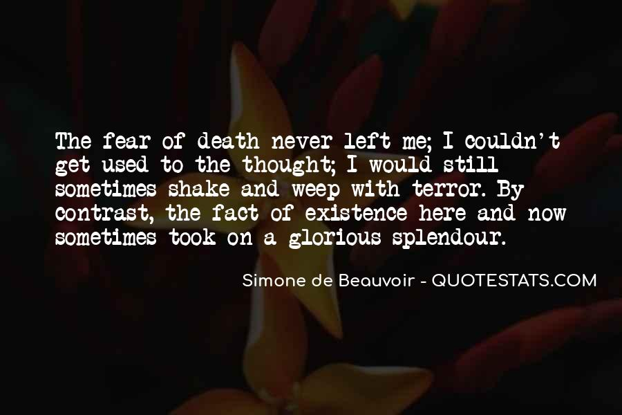 Quotes About Terror And Fear #420931