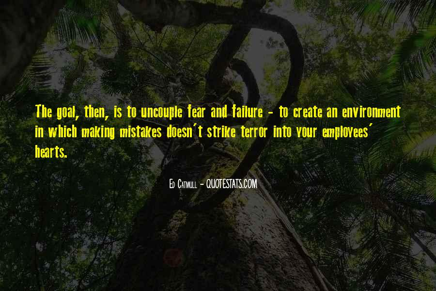 Quotes About Terror And Fear #46894