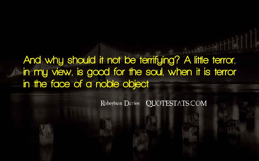 Quotes About Terror And Fear #502910